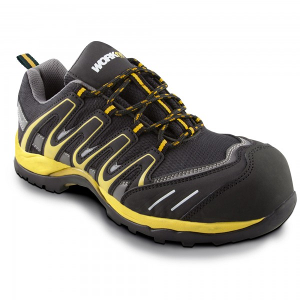 Zapato seg. workfit trail amarillo n.43