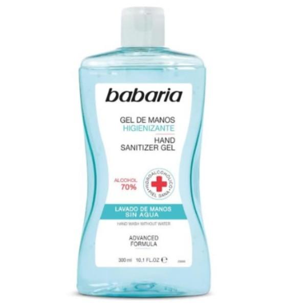 Babaria gel hidroalcohólico de manos alcohol 70% 300 ml
