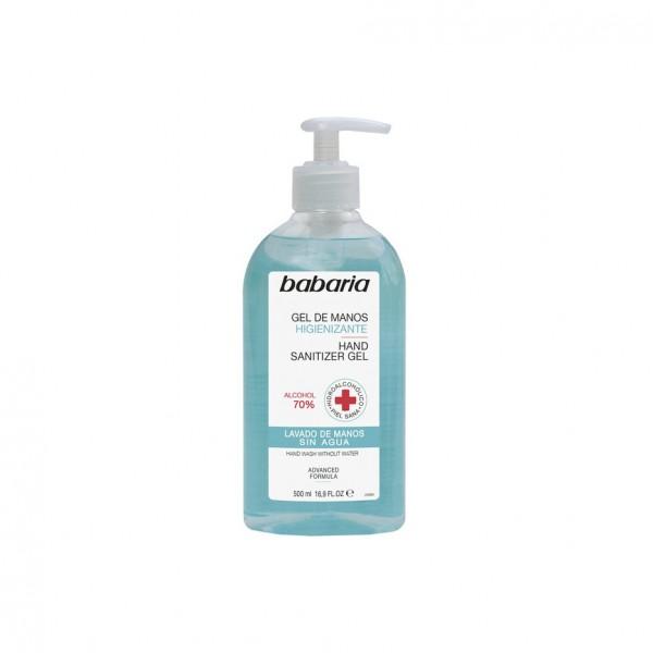 Babaria higienizante gel de manos alcohol 70% 300un