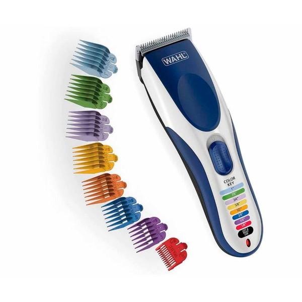 Wahl color pro cordless cortadora de pelo con batería y cuchilla de precisión