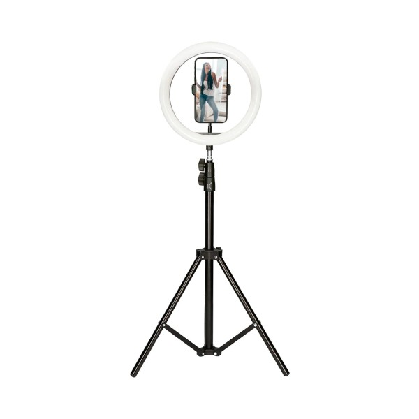 Ksix bxyoutub02 aro de luz y soporte trípode para smartphone